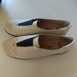 CLARK'S Soft Cushion Slip on Shoes